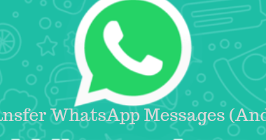 transfer whatsapp from android to iphone manually