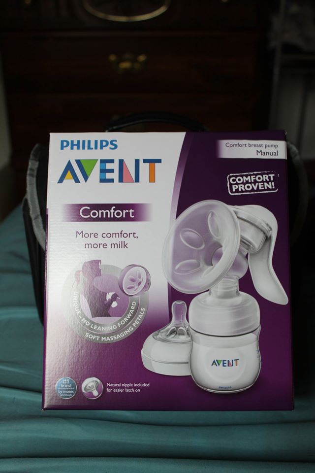 best way to use avent manual breast pump
