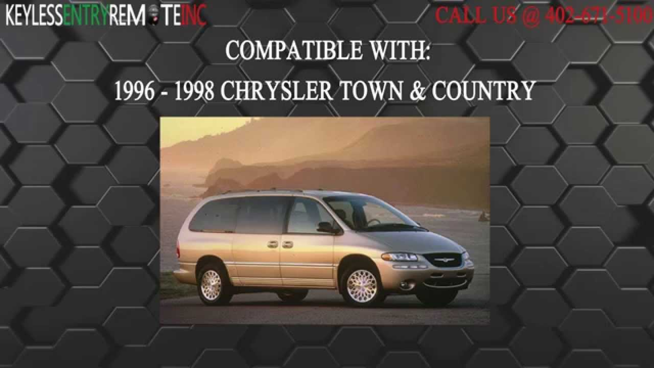 chrysler town country 2005 manual